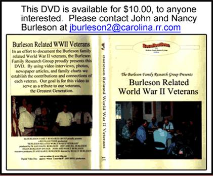Burleson Related World War II Veterans