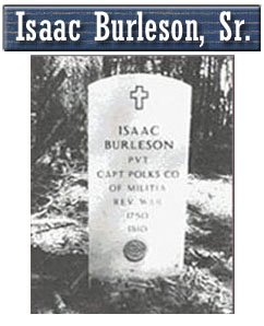 Isaac Burleson, Sr.