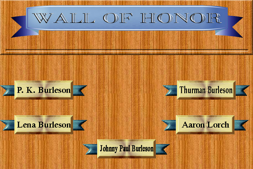 link to Wall of Honor Page